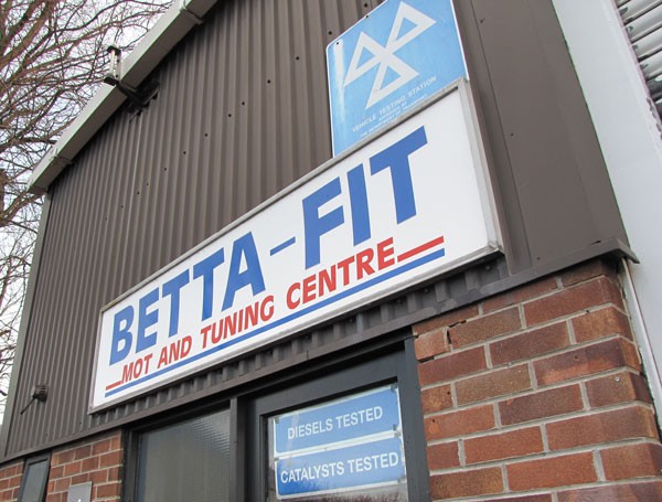 Betta Fit MOT Station